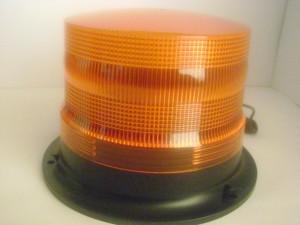 balizas estroboscopicas grandes 14x15cms colores ambar y rojas 12 y 24 volt