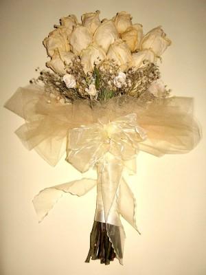 ramos de novia secado/enmarcado