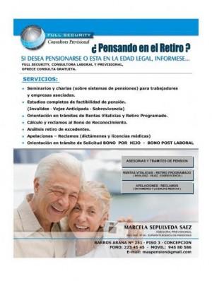 asesoria en tramite de pension y renta vitalicia