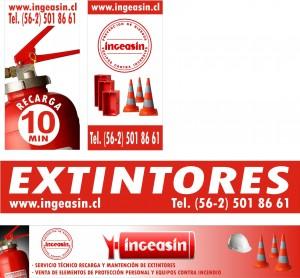 extintores, recarga y mantencion de extintores, equipos contra incendios