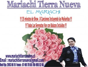serenatas y mariachis... seriedad a toda prueba.red fija:28930610
