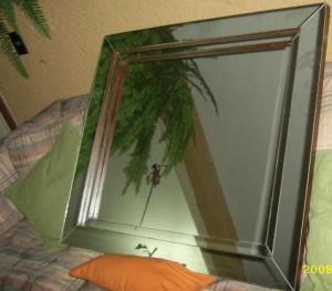 cuadro artesanal de espejo, decorativo, hermoso, vidrio, vendo. buen precio
