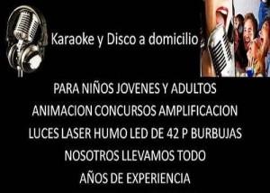 karaokes y disco peques para niños y adultos