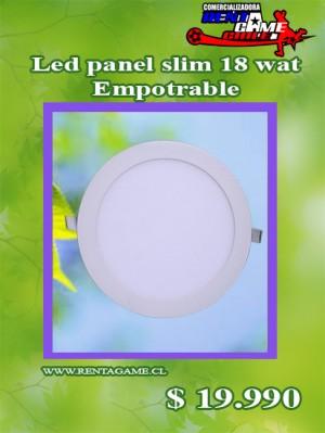 led panel slim 18 watt/empotrable/precio: $ 19.990