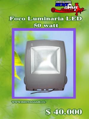 foco luminaria led 50 watt/luzfria precio: $ 40.000