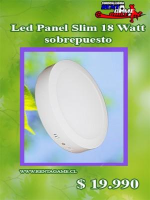 led panel slim 18 watt/sobrepuesto/precio: $ 19.990