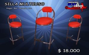 silla multiuso /oferta de rentagame /precio: 18.000