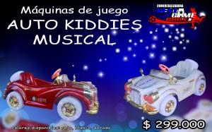auto kiddies musical precio oferta: $ 299.000