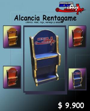 alcancia rentagame/diseño exclusivo/colores llamativos precio: $ 9.900