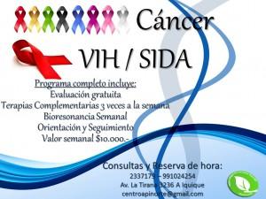 cancer vih sida terapias y tratamientos complementarios apinorte
