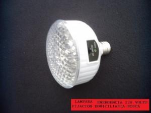 lampara de emergencia de 19 led