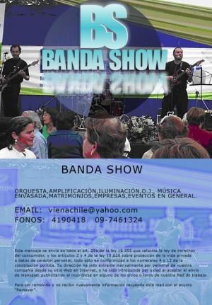 orquesta banda show fiestas patrias