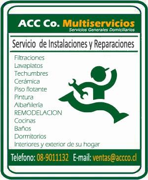 reparaciones,gasfiteria e intalaciones para su hogar