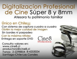 traspaso profesional de cine super 8 y 8mm a dvd