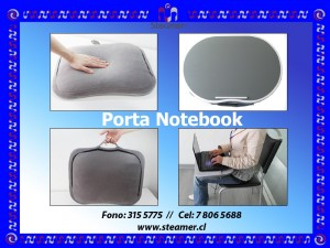 mesa porta noteboook, ideal para viajes, sirve como mesa, escritorio
