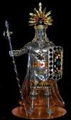 Escultura del Inka Pachacutec de Cusco peru
